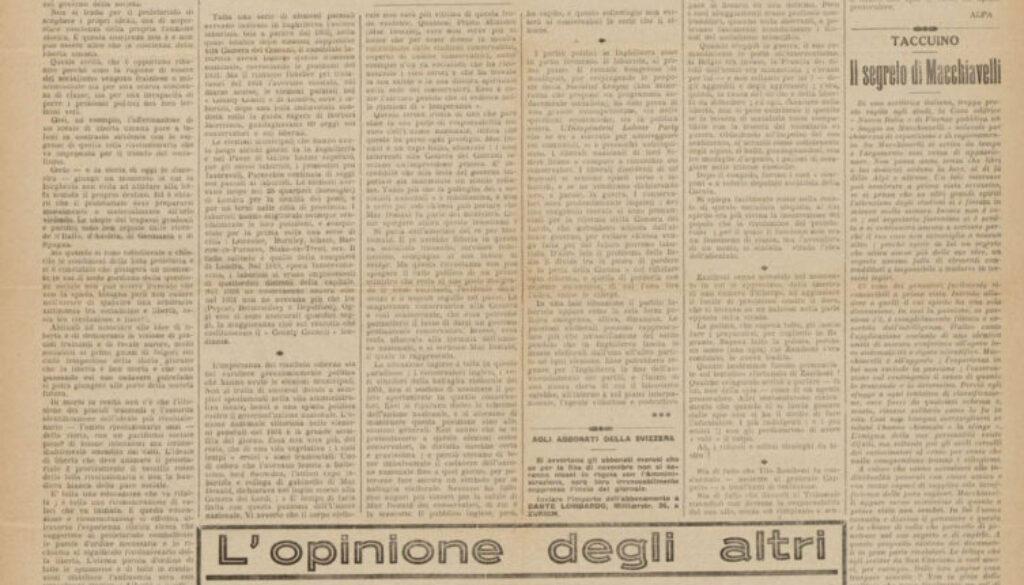 il-nuovo-avanti-Avvenire-dei-lavoratori-10-novembre-1934-rubrica-l'opinione-degli-altri-ENNIO