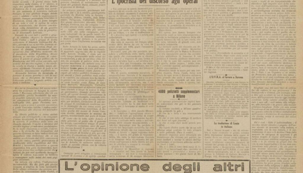 il-nuovo-avanti-Avvenire-dei-lavoratori-13-ottobre1934-rubrica-l'opinione-degli-altri-ENNIO