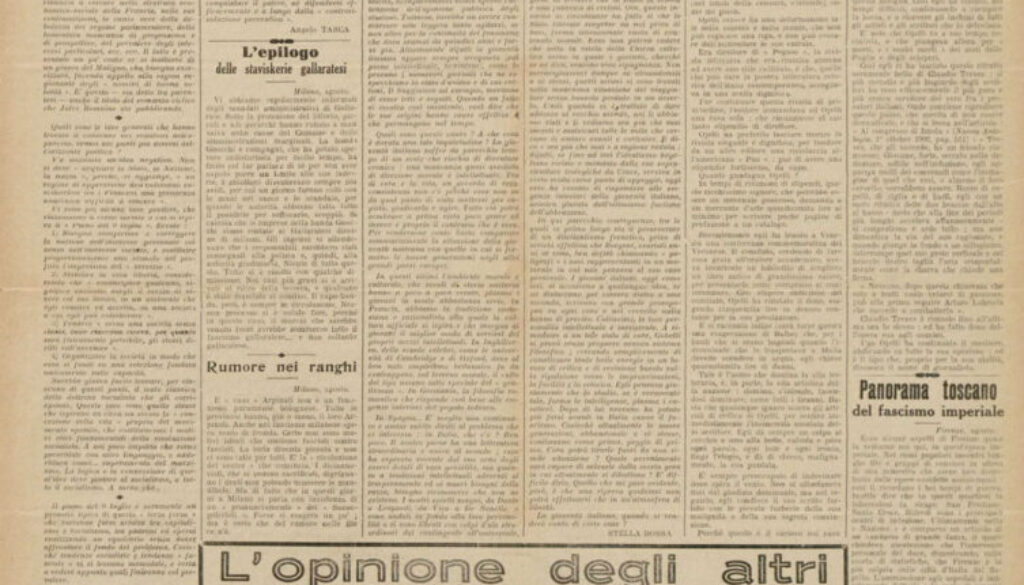 il-nuovo-avanti-Avvenire-dei-lavoratori-25-agosto1934-rubrica-l'opinione-degli-altri-ENNIO